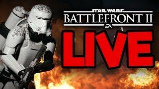 Star Wars Battlefront 2 Livestream #3 - Meet #TeamSilkie