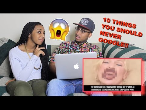 Couple Reacts : 10 Things You Should NEVER Google Reaction!!!