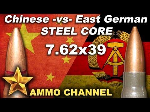 7.62x39 Steel Core: Chinese -vs- East Geman