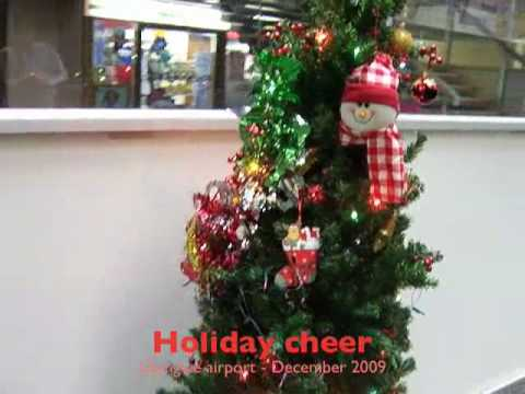 Holiday cheer Lilongwe airport