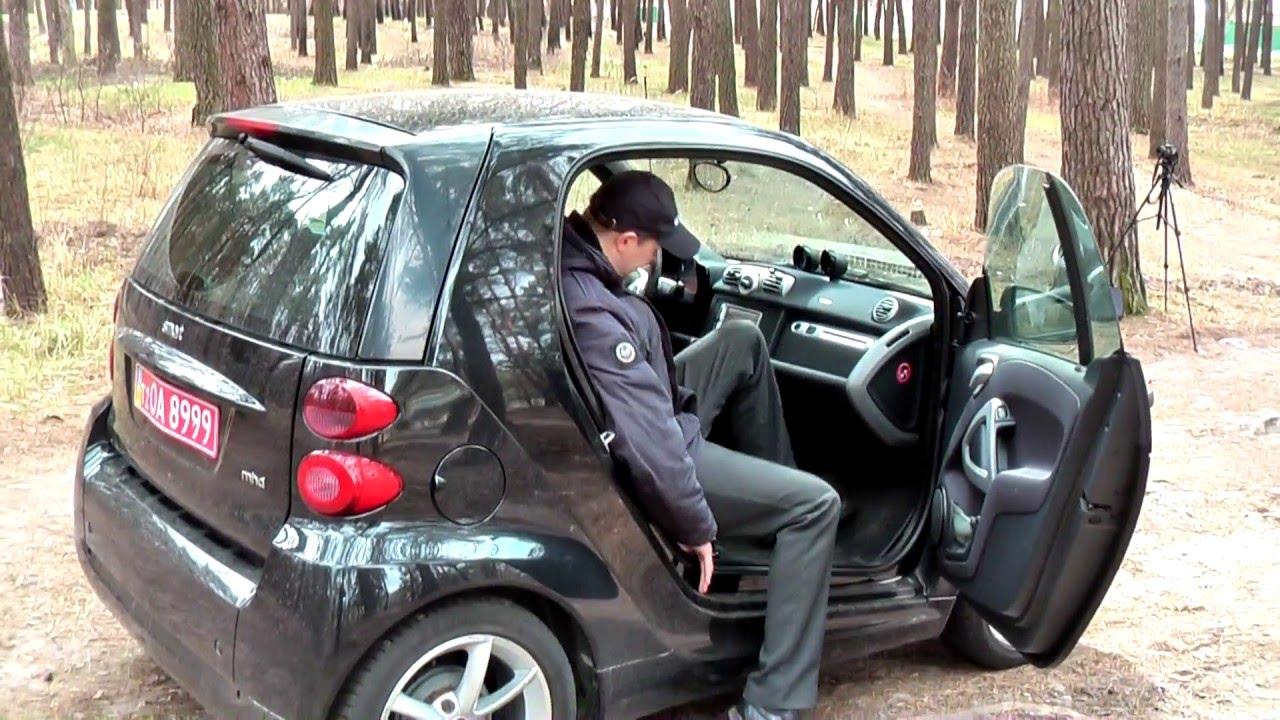 Smart Fortwo (кузов 451) 1.0 71 л.с. Тест драйв