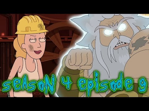 Rick And Morty Season 4 Episode 9 EXPLAINED! Childrick Of Mort Saves Jerry!