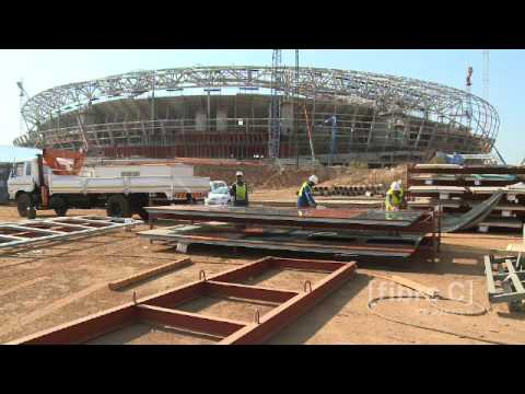 Soccer City Stadium in Johannesburg - fibreC