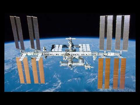 International Space Station chats with students from Delcastle Technical High School in Delaware