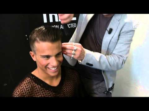 Urban Tribe Male Styling Look on short hair / a JOY style by Alain Pichon