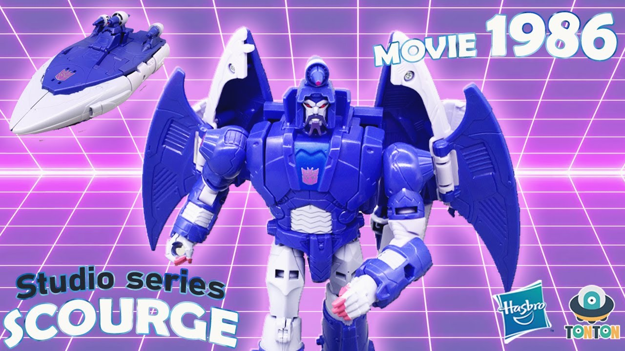 Transformer Studio Series 1986 Scourge In-Hand by TonTon Review