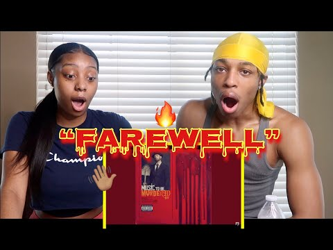 "Eminem - ""FAREWELL"" (REACTION!!)"