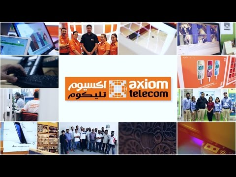 Axiom Telecom..Seriously Unlike Others - اكسيوم تليكوم أكيد غير