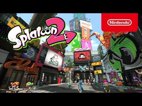 スプラトゥーン2 Nintendo Switch プレゼンテーション 2017 出展映像