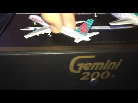 Gemini Jets 1/200 Vs 1/400 America West 757-200 By Gemini Jets