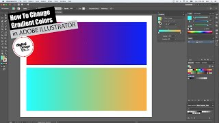 how to Change Gradient Colors in Adobe Illustrator