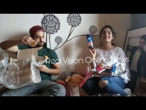 Zain Imam birthday wit Aditi Rathore  Adiza avneil gifts segement part 4 Real Vision Online News thumbnail
