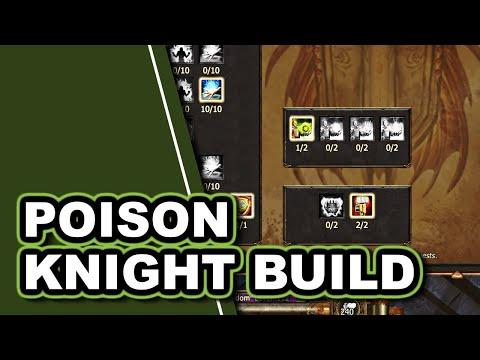 DRAGONKNIGHT poison build (1H + 2H compatible!) | Drakensang Online