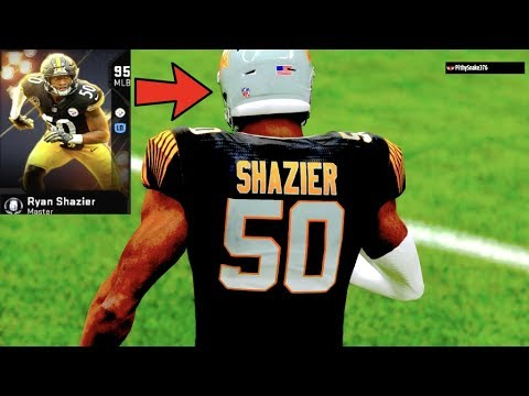 d14567ced30 95 Overall MUT MASTER Ryan Shazier Gameplay! USER PICK SIX! Madden ...