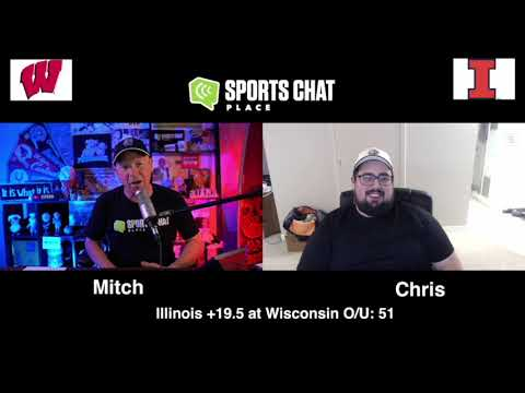 Illinois at Wisconsin College Football Picks & Prediction Friday 10/23/20 Sports Chat Place