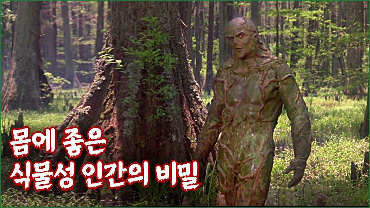 늪지에 나타난 불로불사의 녹색 인간 | 결말 포함