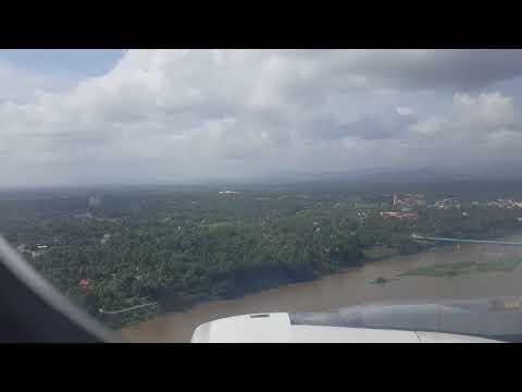 COCHIN KOCHI INTERNATIONAL AIRPORT LANDING  NATURE OF KERALA
