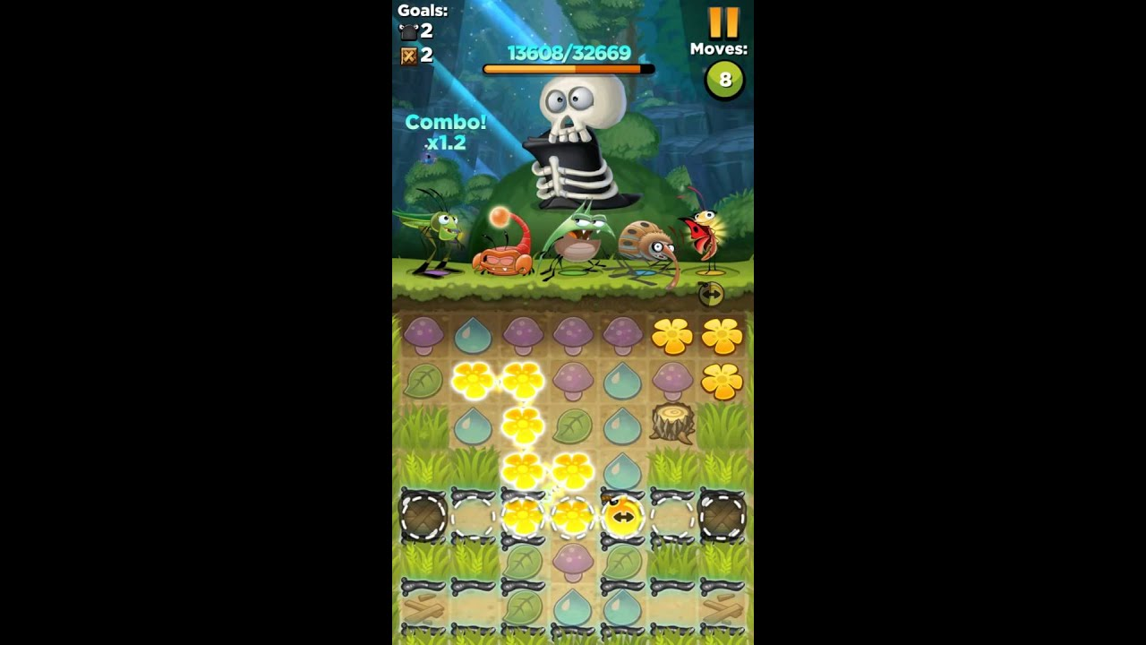 Best Fiends взлом - mods-android.com