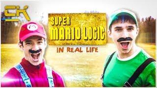 SUPER MARIO LOGIC IN REAL LIFE
