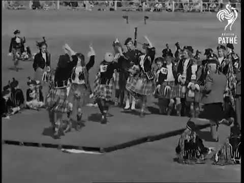 Highland dancing -