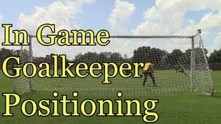 In Game Goalkeeper Positioning: Goalkeeper Training