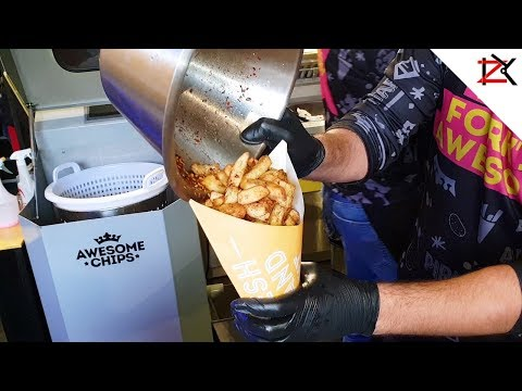 AWESOME Fresh Handmade Chips | Street Food | Variety Of Flavours | LIVE Cooking