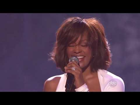 """Whitney Houston performs """"I Didn't Know My Own Strength"""" at AMAs 2009"""