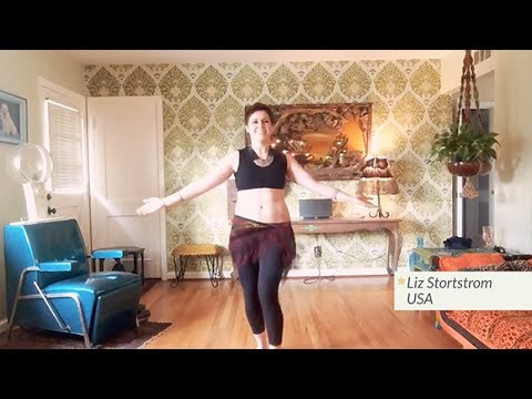 """DO Belly Dance Challenge #5 - """"Spirit of the Drum"""" Student Compilation"""