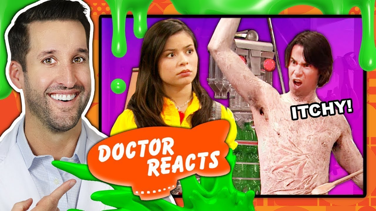 ER Doctor REACTS to Hilarious Nickelodeon Medical Scenes (iCarly, Drake & Josh, Victorious, & More)