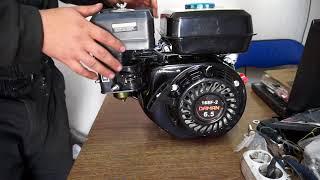 обзор двигателя DAMAN 168F-2