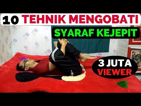 Senam syaraf kejepit di pinggang sciatica Di video kali ini kang abay sengaja buat 6 gerakan untukSe.