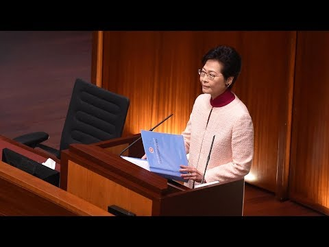 HKSAR Chief Executive Carrie Lam stresses greater focus on land usage, housing
