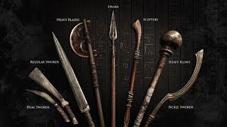 оБЗОР ОРУЖИЯ! ОКО АПОПА, КЛЫК, ЗОЛОТОЙ ВОЛК ! КРАФТ И ПРОКАЧКА! Assassins Creed Origins (Истоки)!