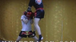 Тайский бокс - Видео уроки, Обучение, Тренировки, Самоучитель,(Это нарезка из моих первых видео уроков по тайскому боксу, сейчас всё стало намного круче и по качеству..., 2013-12-31T13:00:30.000Z)