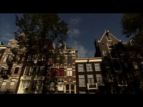 Amsterdam Canal Boat Citytour (day & night) The Netherlands HD Stock Broadcast