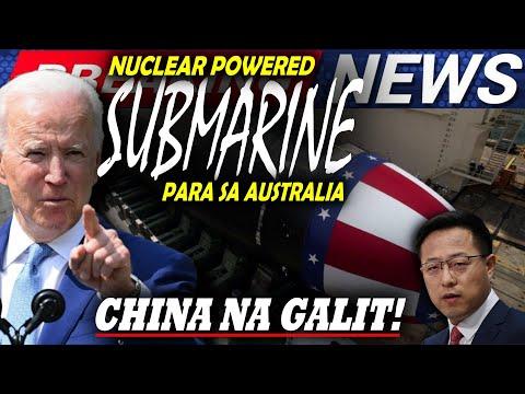GRABE! CHINA GALIT AT TAKOT SA BAGONG NUCLEAR SUBMARINE DEAL NG AUSTRALIA-UNITED KINGDOM AT AMERIKA -  (2020)