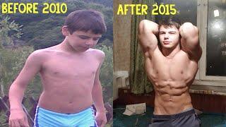 Bozhidar Karailiev Body Transformation - My amazing Body Transformation : The Whole Story!