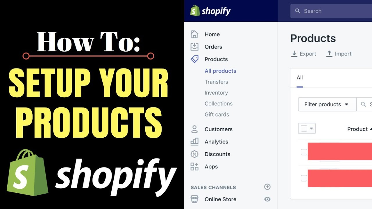 How To Setup Your Shopify Products (Live Example - Dropshipping)