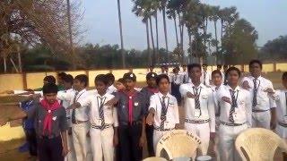 jnv krishna swachh bharat pledge 26-01-2016