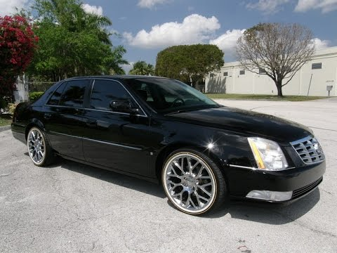 For Sale 2008 Cadillac Dts Sedan 20 Inch Chrome Wheels With Vogue