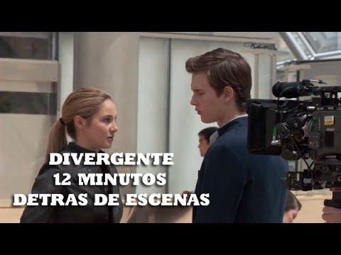 Divergente-12 minutos detrás de Escenas poster