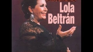 LOLA BELTRAN LA NOCHE DE MI MAL LETRA HD