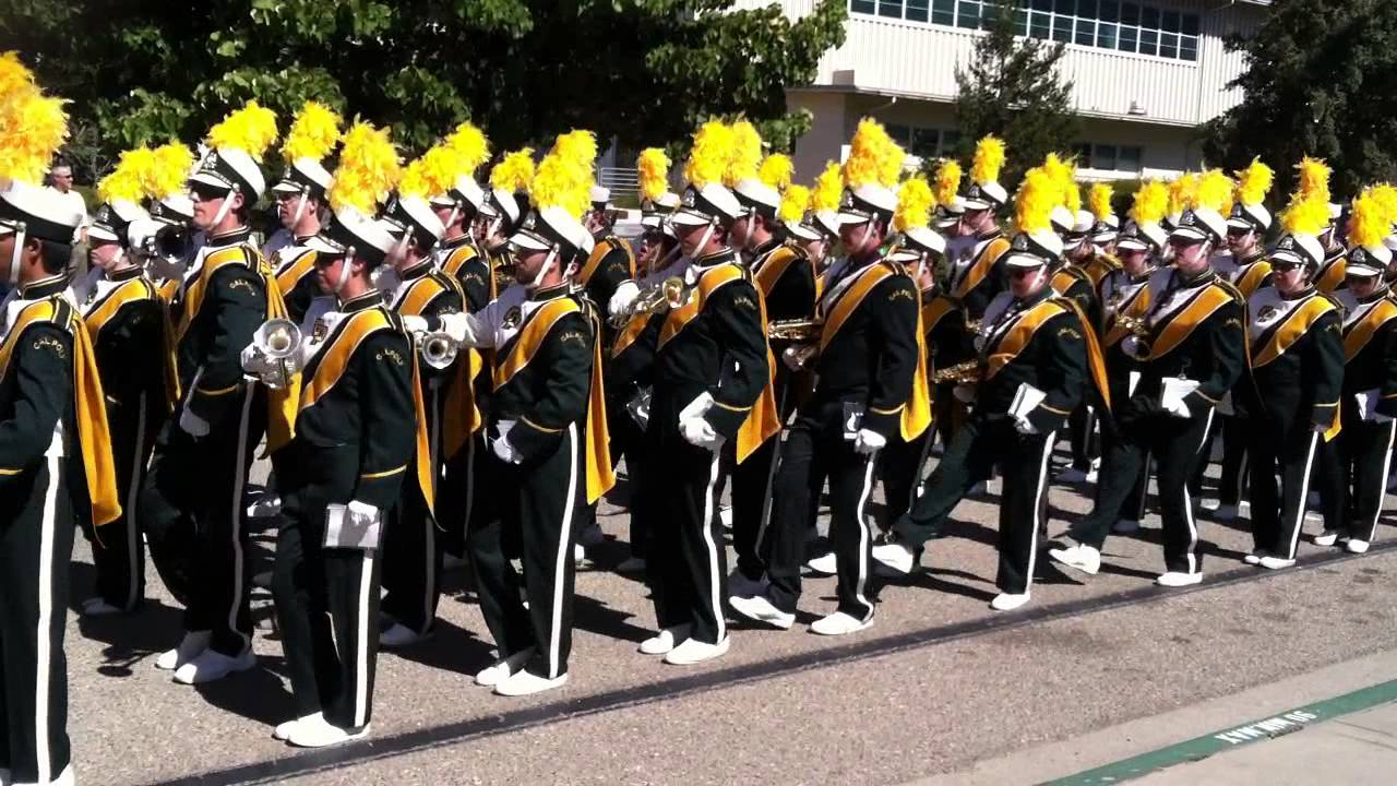 Cal Poly SLO Marching Band 10/05/13 - YouTube