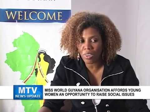 MTV News Update: Miss World Guyana Organisation supports delegates with highlighting social issues