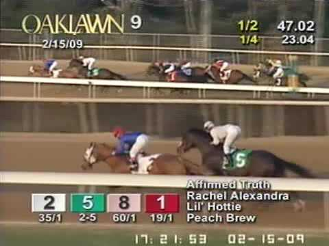 Rachel Alexandra - 2009 Martha Washington Stakes