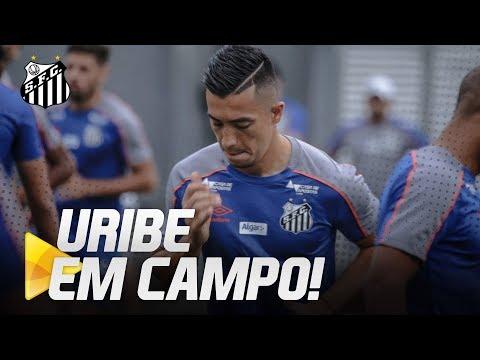 URIBE EM CAMPO: ATACANTE TREINA COM O ELENCO | DE OLHO NO TREINO (30/05/19)