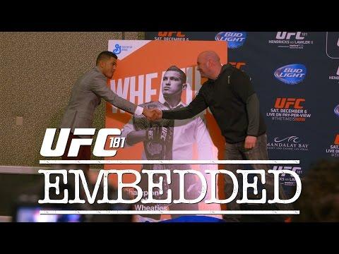 UFC 181 Embedded: Vlog Series - Episode 5