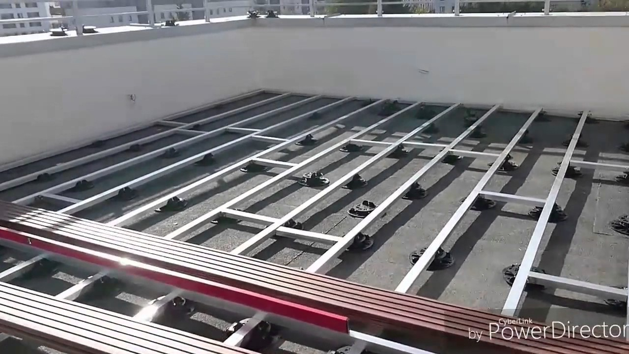 Modne ubrania Montaż tarasu z deski kompozytowej SILVADEC na balkonie - YouTube SI53