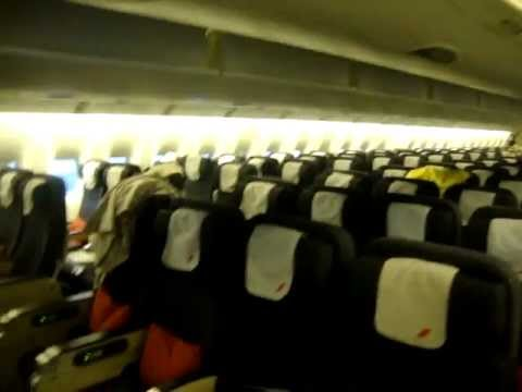 777 air france economy class interior youtube for Air france interieur classe economique