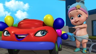 Johnny Has A Brand New Car - Playing with Toys | Rhymes and Baby Songs | Infobells